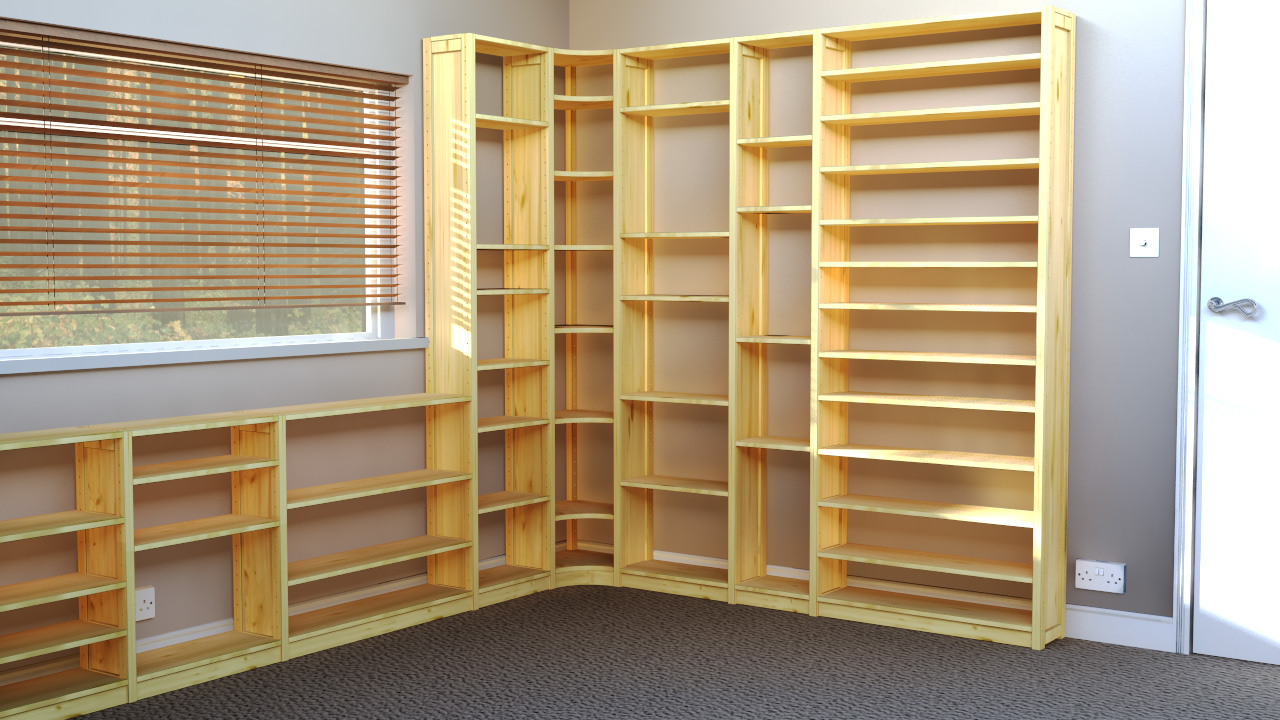 Wooden Shelves - Practical Storage Solutions and Quality Shelving