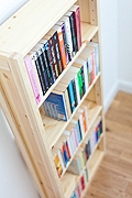 Designing Your Own Pine Bookcase