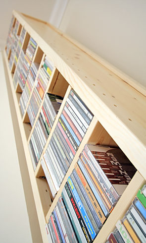 Cd Storage Shelves Adjustable Shelving For Any Room