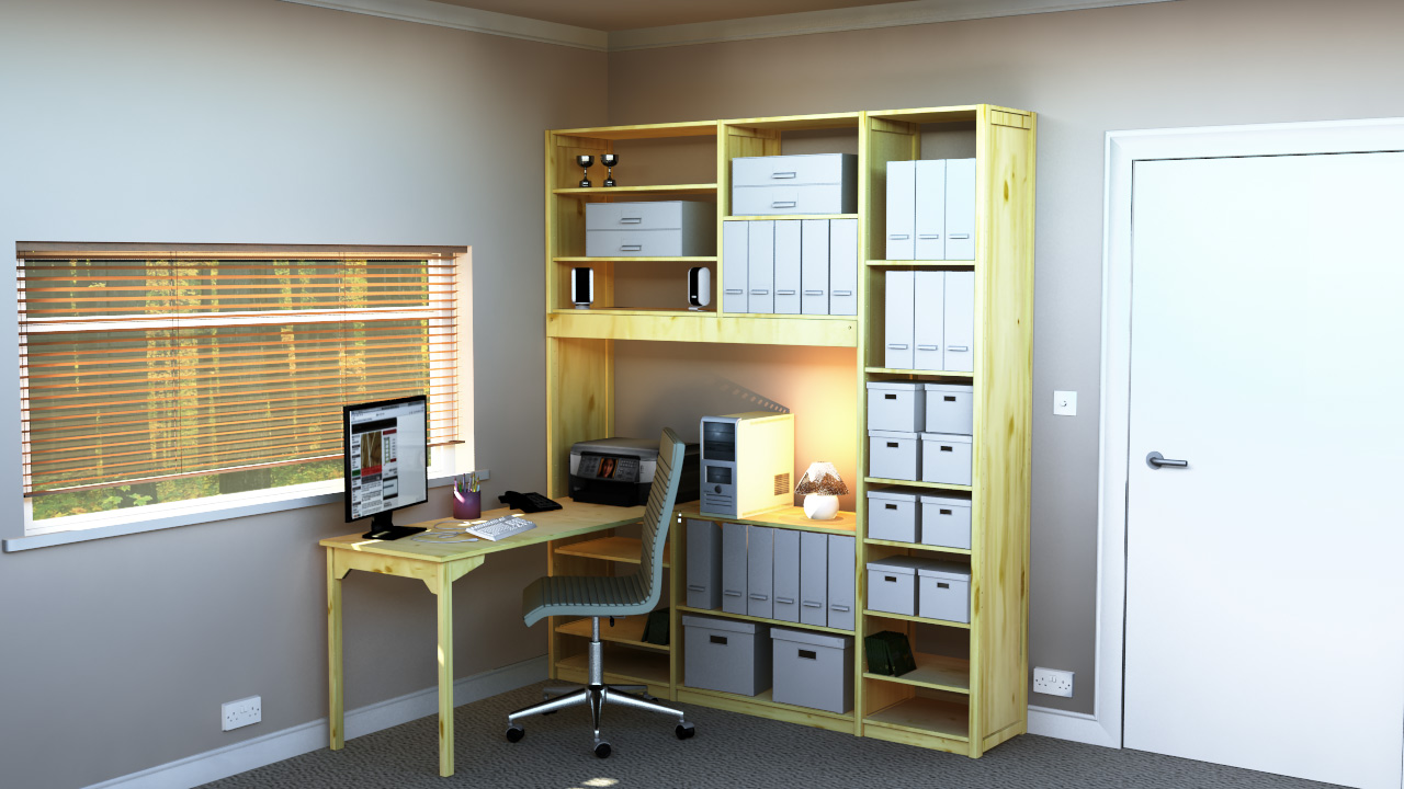 The importance of a spacious home office working environment for Creating a home office