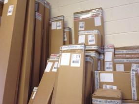 lots of packaging