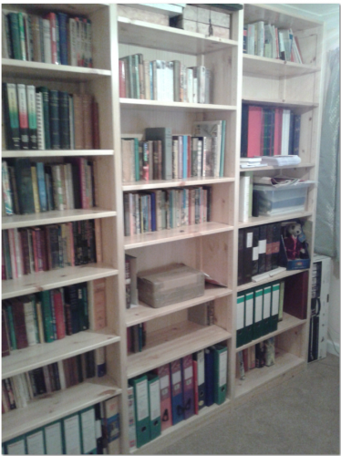 shelving bookcase