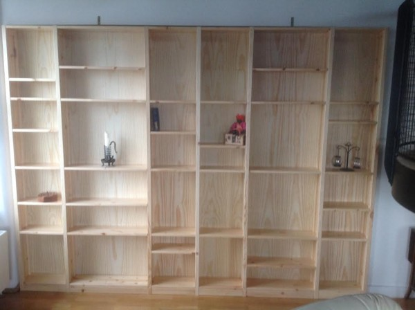 new shelving