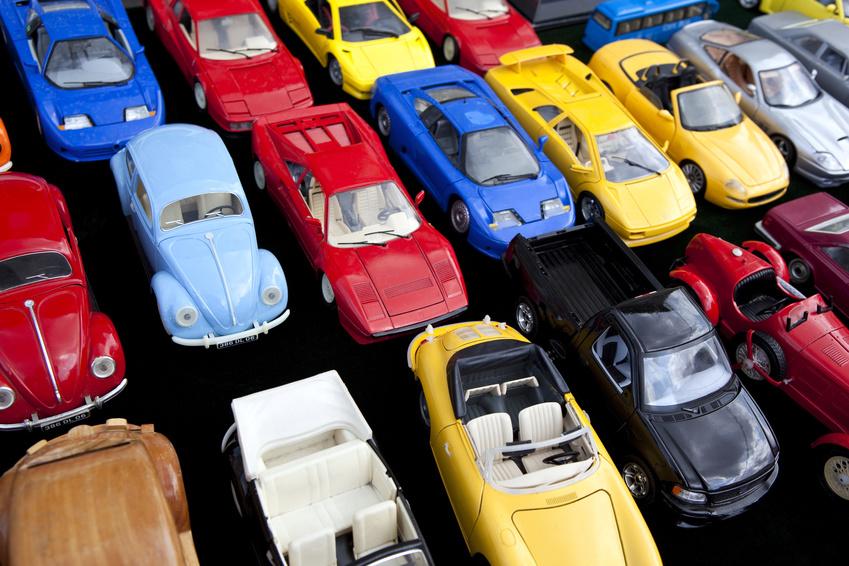 Jouet, voiture, miniature, jeu, plastique, rtro, vintage