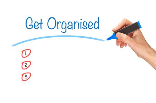 Get Organised fotolia_89336401