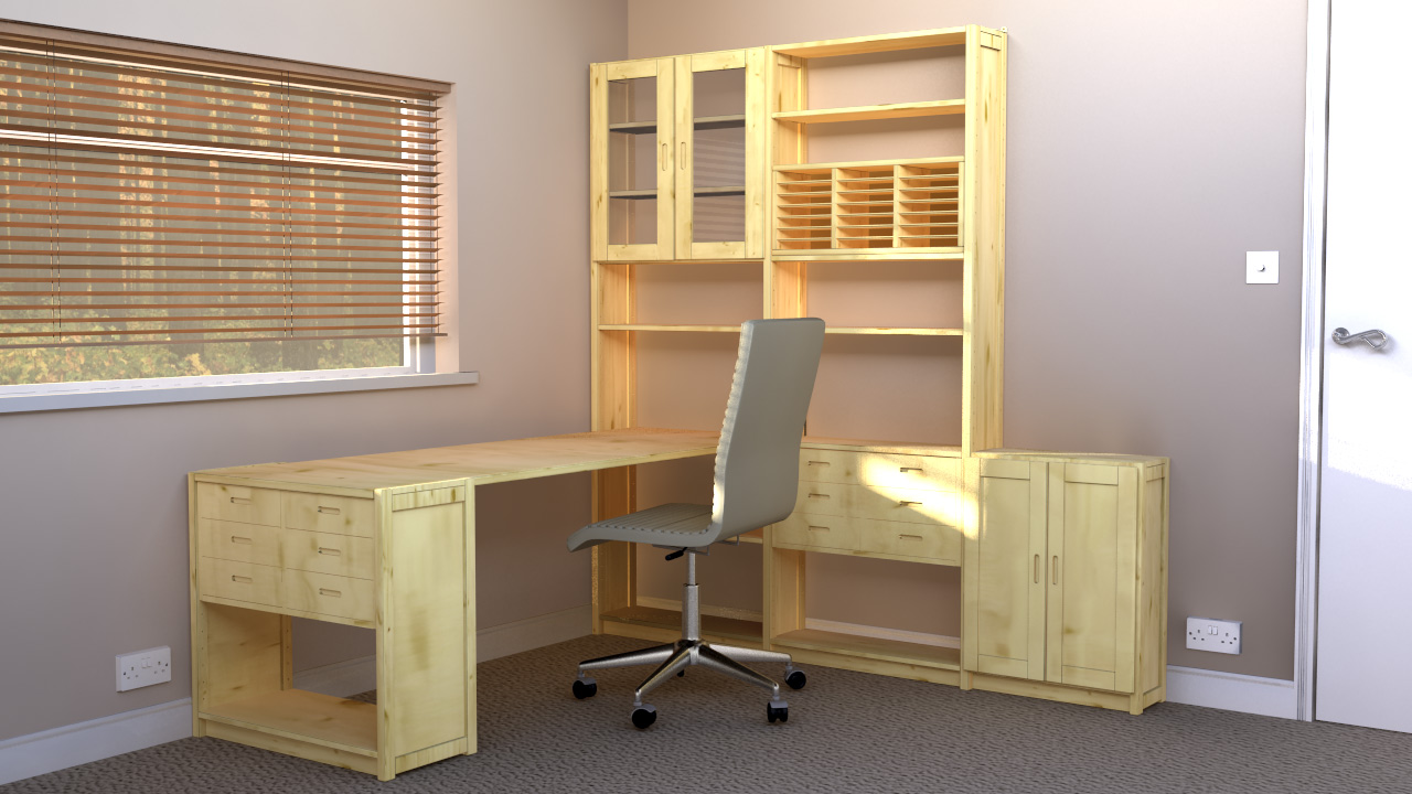 home office storage systems. Example Office Solution 1 160 X 204cm Home Storage Systems