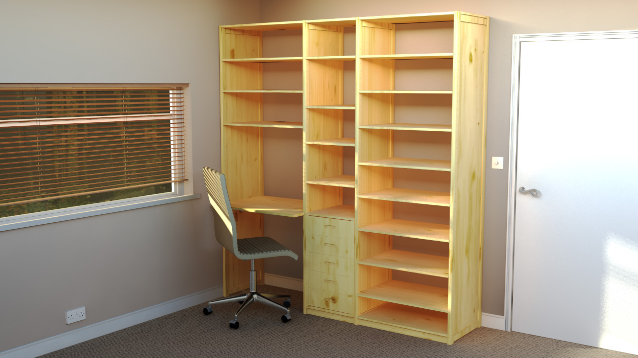 officeshelves by wood the shelving office shelves grain cottage