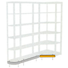 Fascia Corner Shelf Straight Front